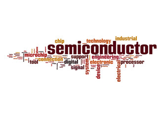 Semiconductor word cloud