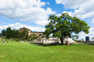 Philadelphia art museum park - Pennsylvania - USA