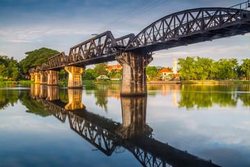 Bridge River Kwai, Kanchanaburi, Thailand.