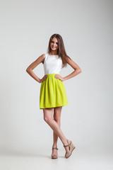 Girl in Fashion dress