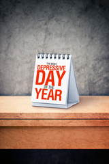 the most depressive day of the year