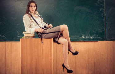 seduction in classroom