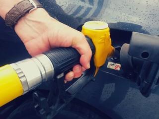 Faire le plein d'essence