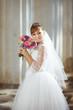 bride at wedding day