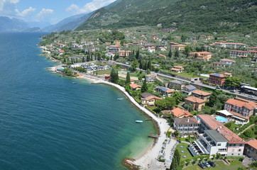 Malcesine - a beautiful relaxed town at lake Garda, Italy