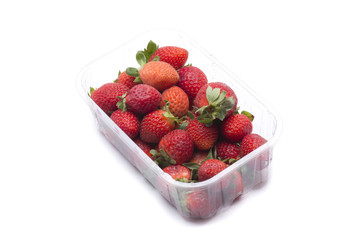 strawberries box