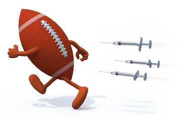 rugby ball doping concepts