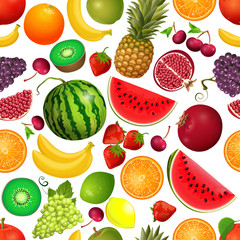 seamless texture of fruit