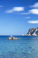 Küste auf der Insel Karpathos, Griechenland
