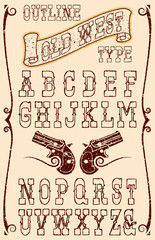Old west type