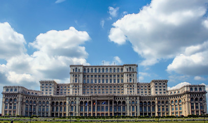 Peoples's Palace in Bucharest, Romania
