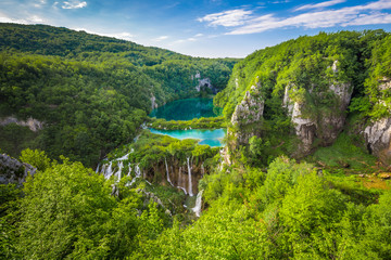 Plitvicer Lakes NP from Vidikovac point #2,  Croatia