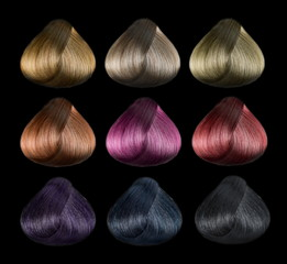 Hair color set