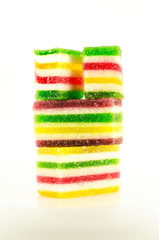 Сandies of fruit jelly | colorful fruit jelly