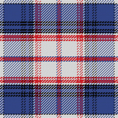 vector seamless pattern Scottish tartan State of Florida
