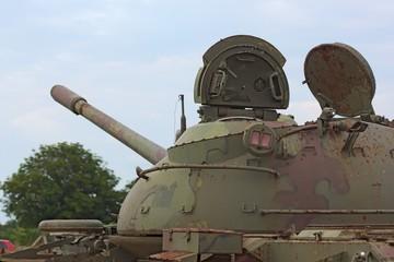 Detail of tank