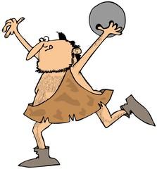 Caveman bowling
