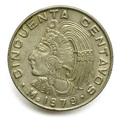 México 50 cincuenta centavos Mexiko 1979 fünfzig Cent