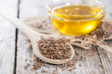 Healthy Linseed Oil