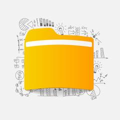 Drawing business formulas: folder