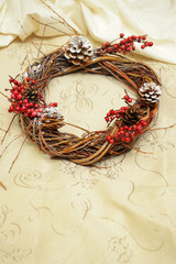 christmas wreath handmade