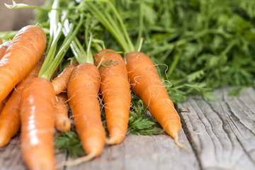 Carrots (close-up shot)