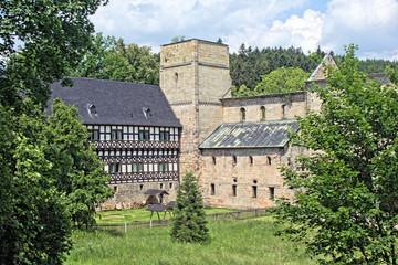 Kloster Paulinzella mit Jagdschloss - Bild 3