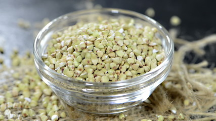 Buckwheat Grains (not loopable)