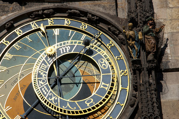 Prague. Astronomical clock. Orloj