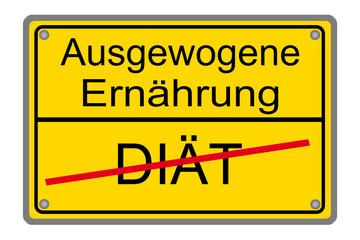 Diät - Ausgewogene Ernährung