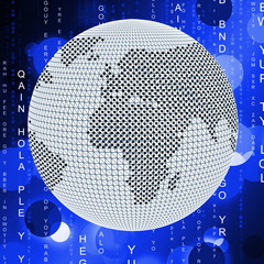 Global Matrix Means Globalize Globalization And Network