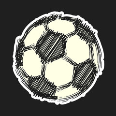 football icon vector illustration