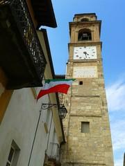 Montiglio Monferrato - torre con orologio