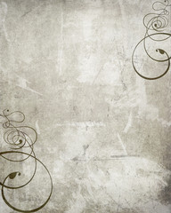 abstrakt wand alt dekoration