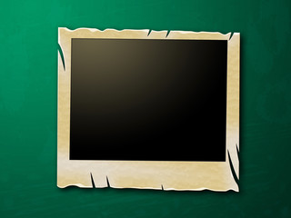 Photo Frames Shows Blank Space And Copy-Space