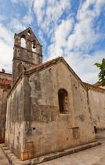 St John the Baptist church (XIII c.). Trogir, Croatia