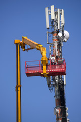 Maintenance to an antenna for communications