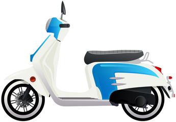 scooter urbain rétro