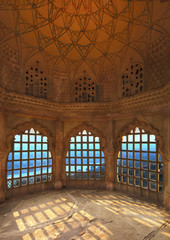 Interior of Amber fort, Jaipur, India