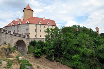 Castle Veveri, Moravia, Czech Republic, Europe