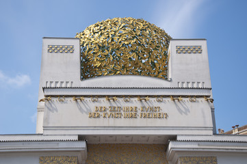 Secession building in Vienna