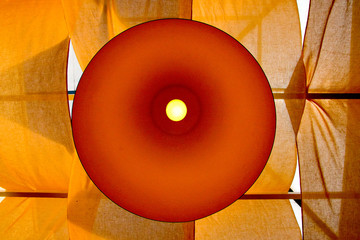 Modern yellow lamp