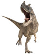 canvas print picture - ceratosaurus