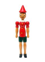 Pinokio, drewniane zabawki