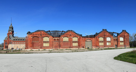 Historic Pullman Factory Panorama