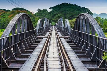 River Kawai Bridge, Kanchanaburi,Thailand