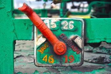 Cambiador manual de potencia, vagón de mercancías