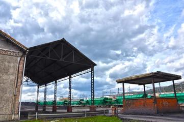 Transporte de mercancías por ferrocarril, La Nava, Puertollano