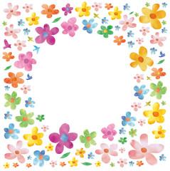 花びら・水彩