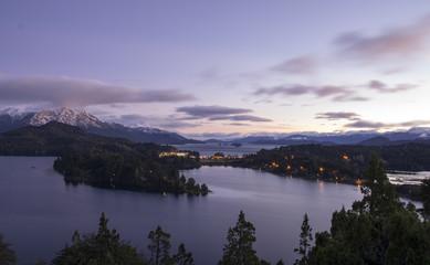 Amanecer en Bariloche